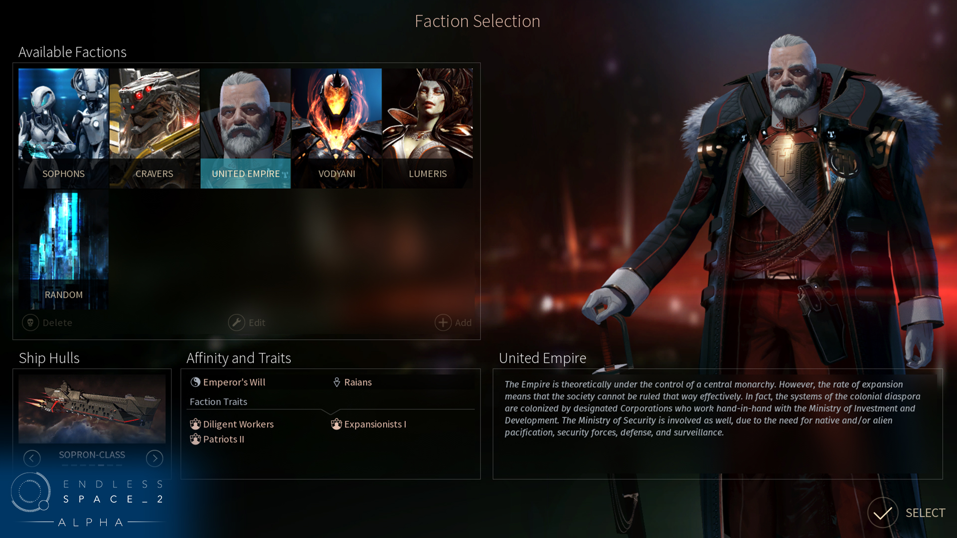 endless space2 how to play