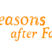 Logo 01 - Seasons after Fall - Orange