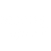 Logo 03 - Seasons after Fall - White