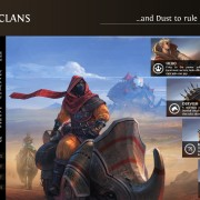 Endless Legend - Roving Clans Faction Card