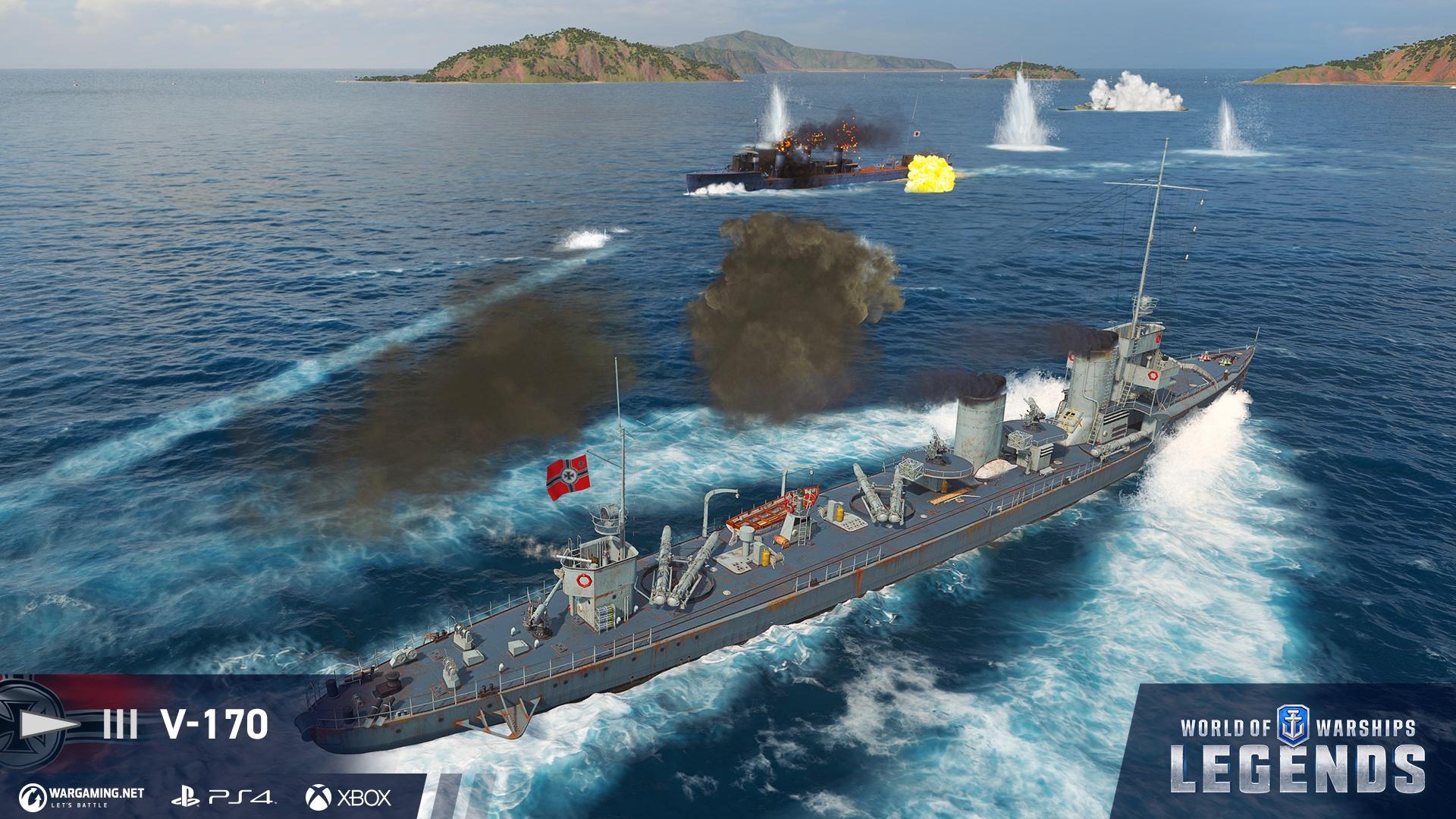 World of Warships Legends – ICO Media