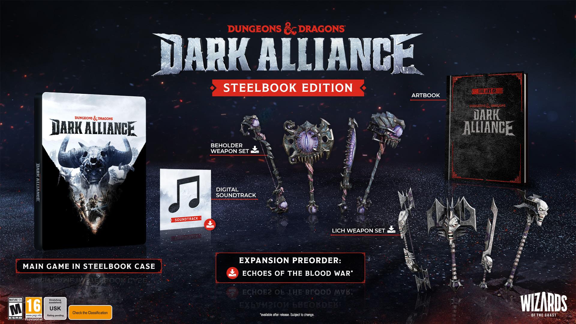 Dark Alliance Steelbook Edition